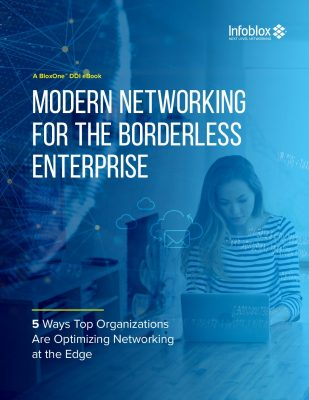 Modern Networking for the Borderless Enterprise: 5 Ways Top Organizations Are Optimizing Networking at the Edge