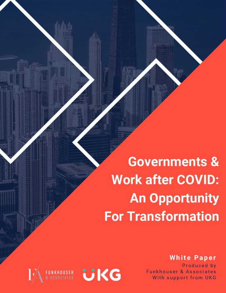 Governments & Work after COVID: An Opportunity For Transformation