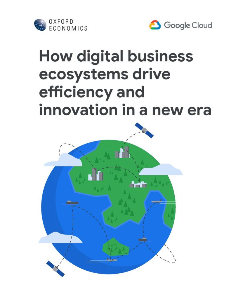 Digital Business Ecosystems: Driving innovation and efficiency in a new era