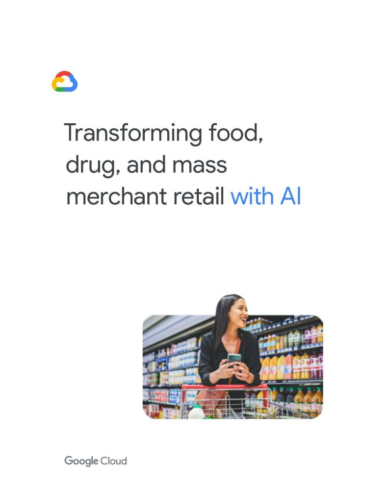 Transforming Food, Drug, and Mass Merchant Retail with AI