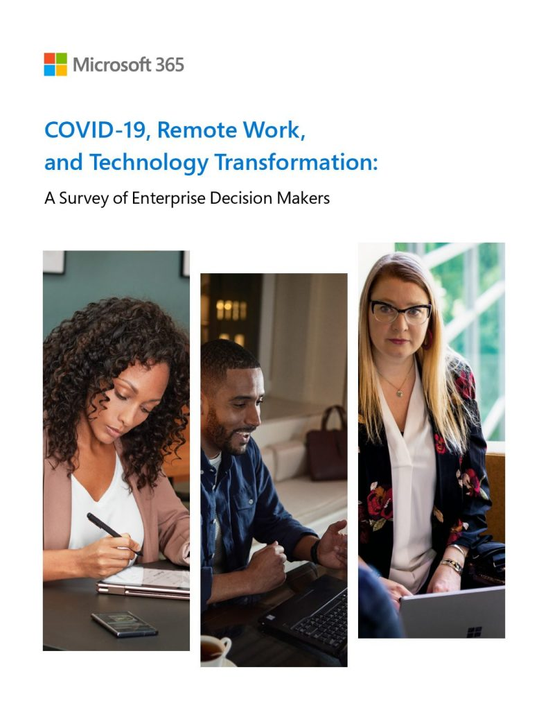 COVID-19, Remote Work, and Technology Transformation