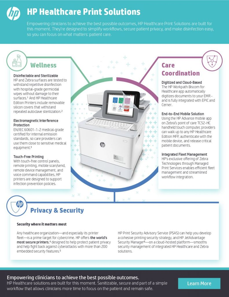 HP Healthcare Print Solutions