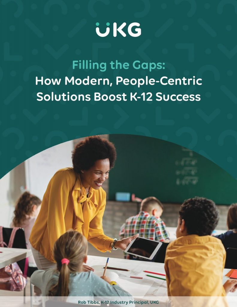 How Modern, People-Centric Solutions Boost K-12 Success