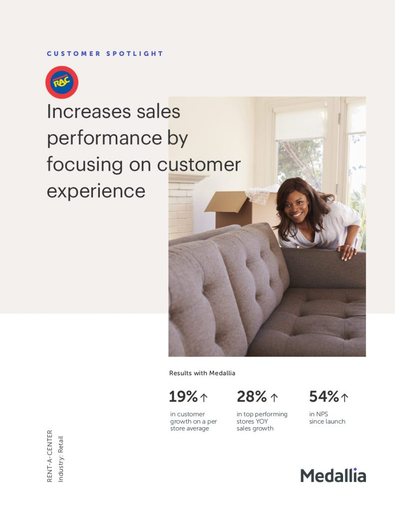 How Rent-A- Center Increased Sales by Focusing on Customer Experience