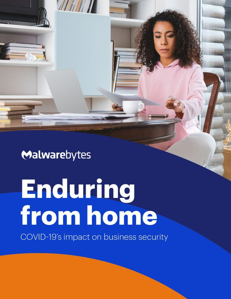 Enduring from home COVID'19's impact on business security