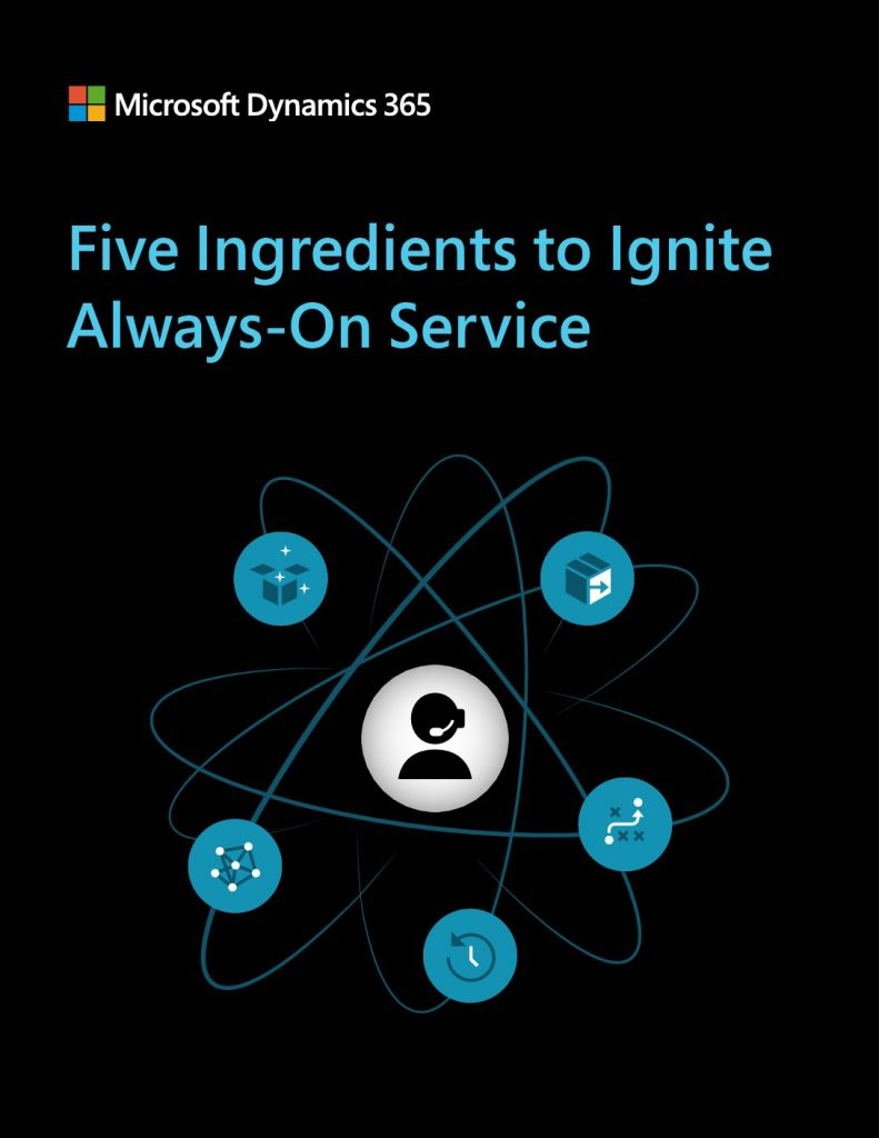 Five Ingredients to Ignite Always-On Service