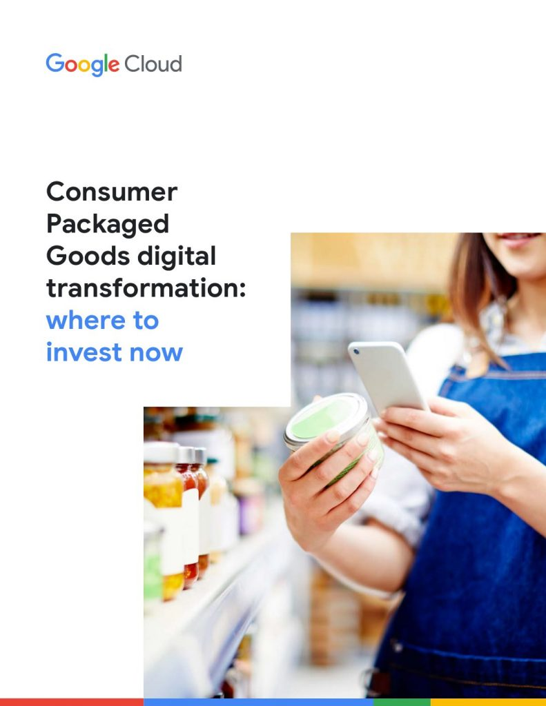 CPG digital transformation: where to invest now