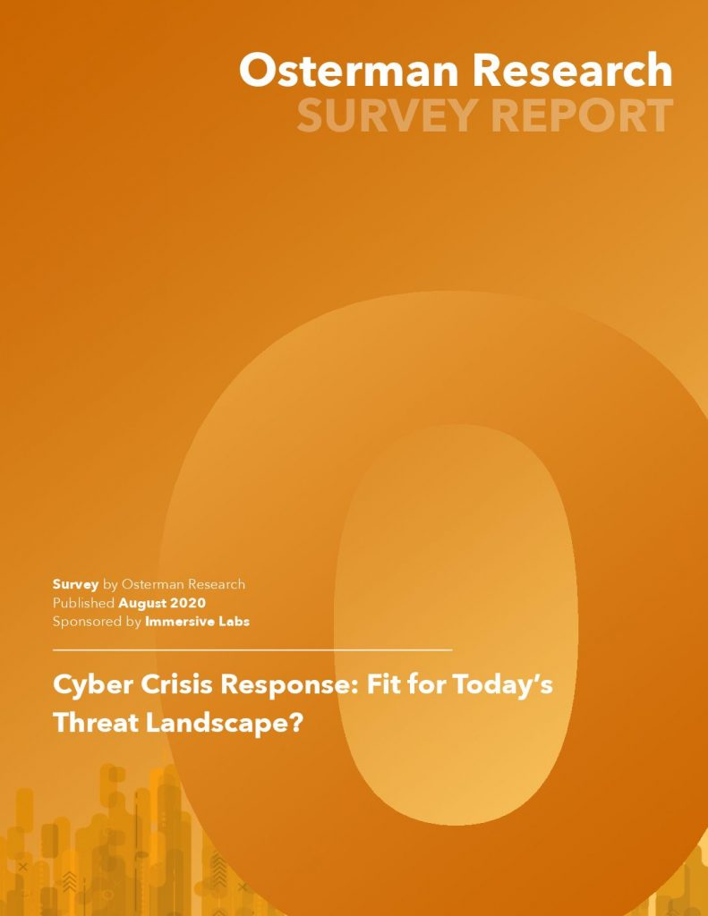 Osterman Research: Cyber Crisis Response – Fit For Today's Threat Landscape?