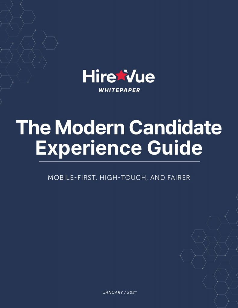 The 2021 Candidate Experience Whitepaper
