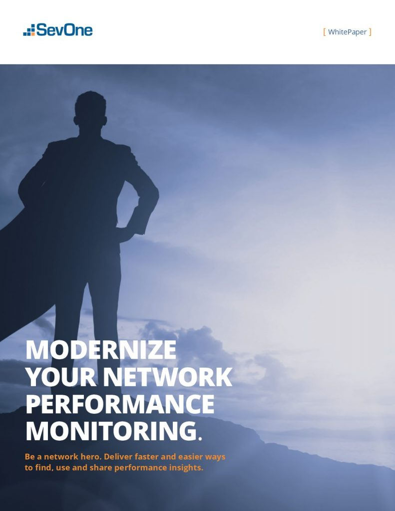 Modernize Your Network Performance Monitoring
