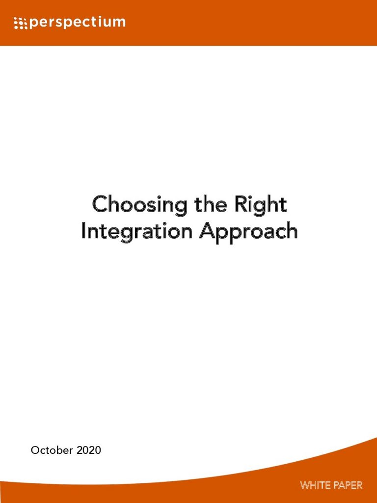 Choosing the Right Integration Approach
