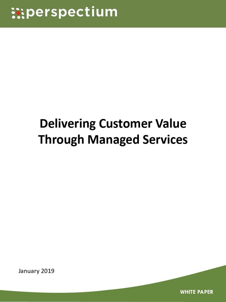 Delivering Customer Value Through Managed Services
