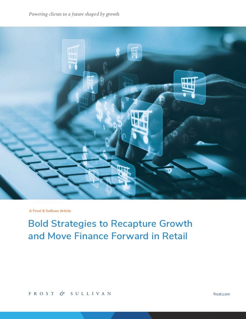 Bold strategies to recapture Growth and Move Finance Forward in Retail