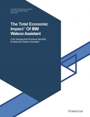 BANKING Forrester TEI Watson Assistant Study