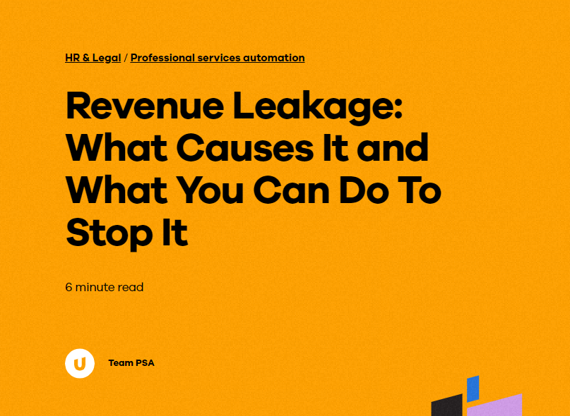 Revenue Leakage: What Causes It and What You Can Do To Stop It