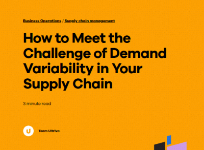 How to Meet the Challenge of Demand Variability in Your Supply Chain