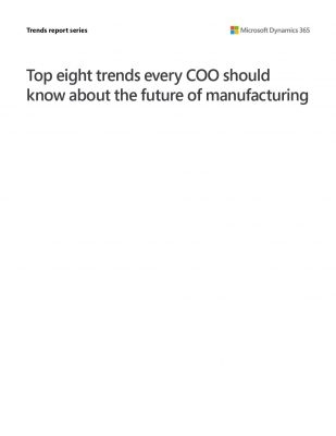 Dynamics 365 Supply Chain Management – The Top 8 Trends Every COO Should Know