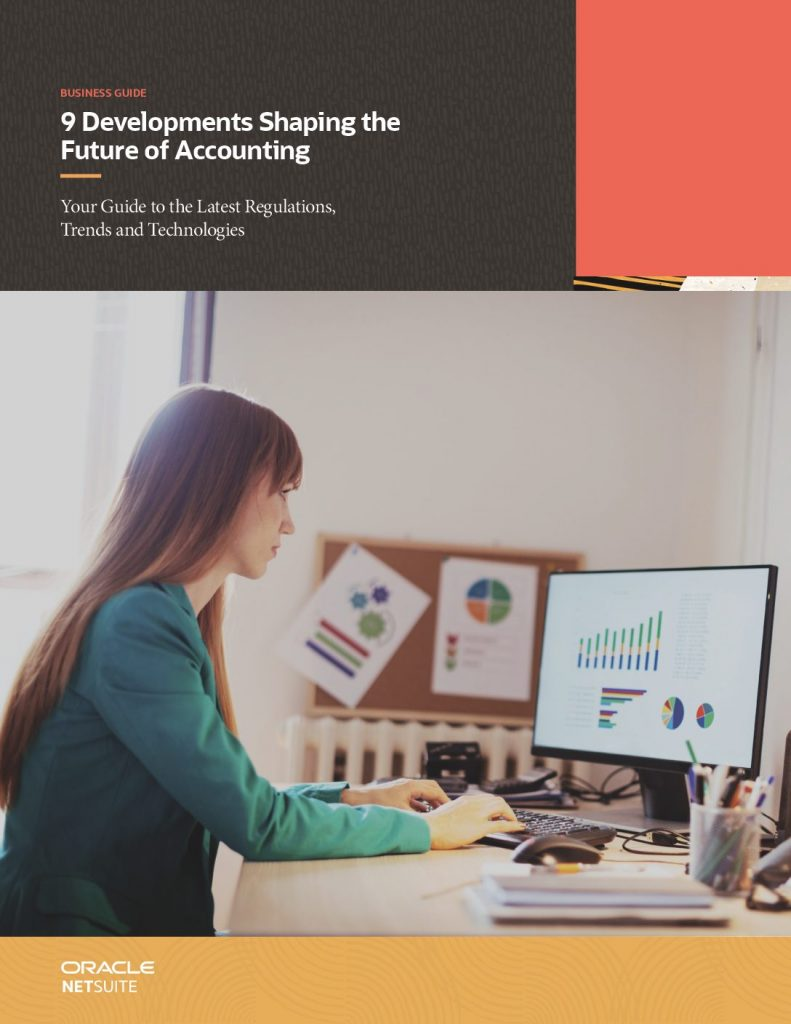 9 Developments Shaping the Future of Accounting