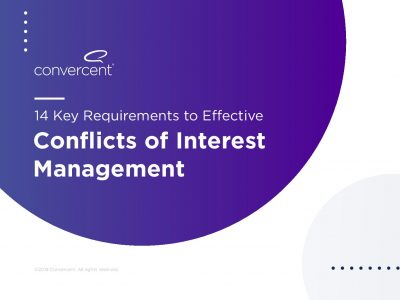 Conflicts of Interest Management
