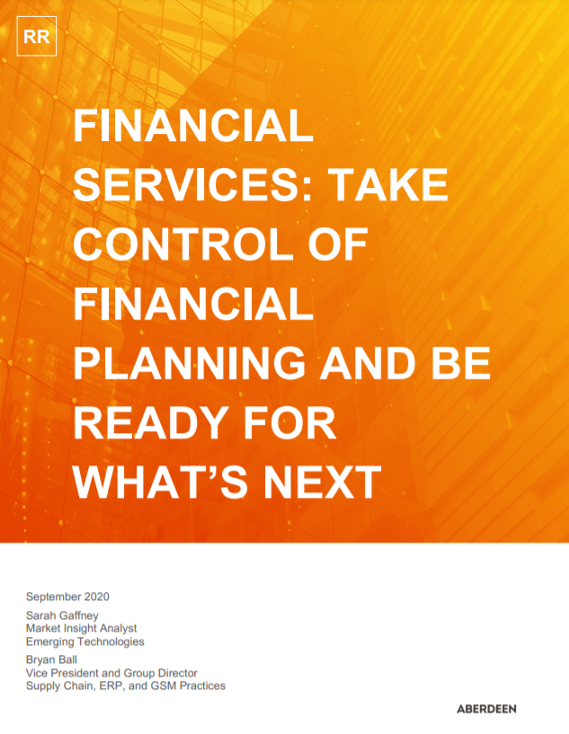 Financial Services: Take Control of Financial Planning and Be Ready for What's Next