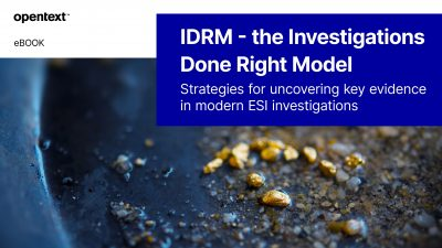IDRM - the Investigations Done Right Model