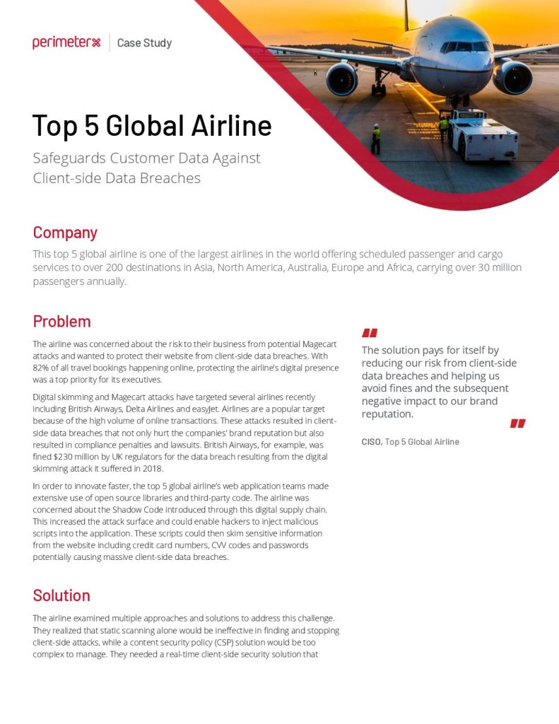 Top 5 Global Airline Case Study
