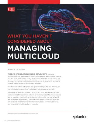 What You Haven't Considered About Managing Multicloud
