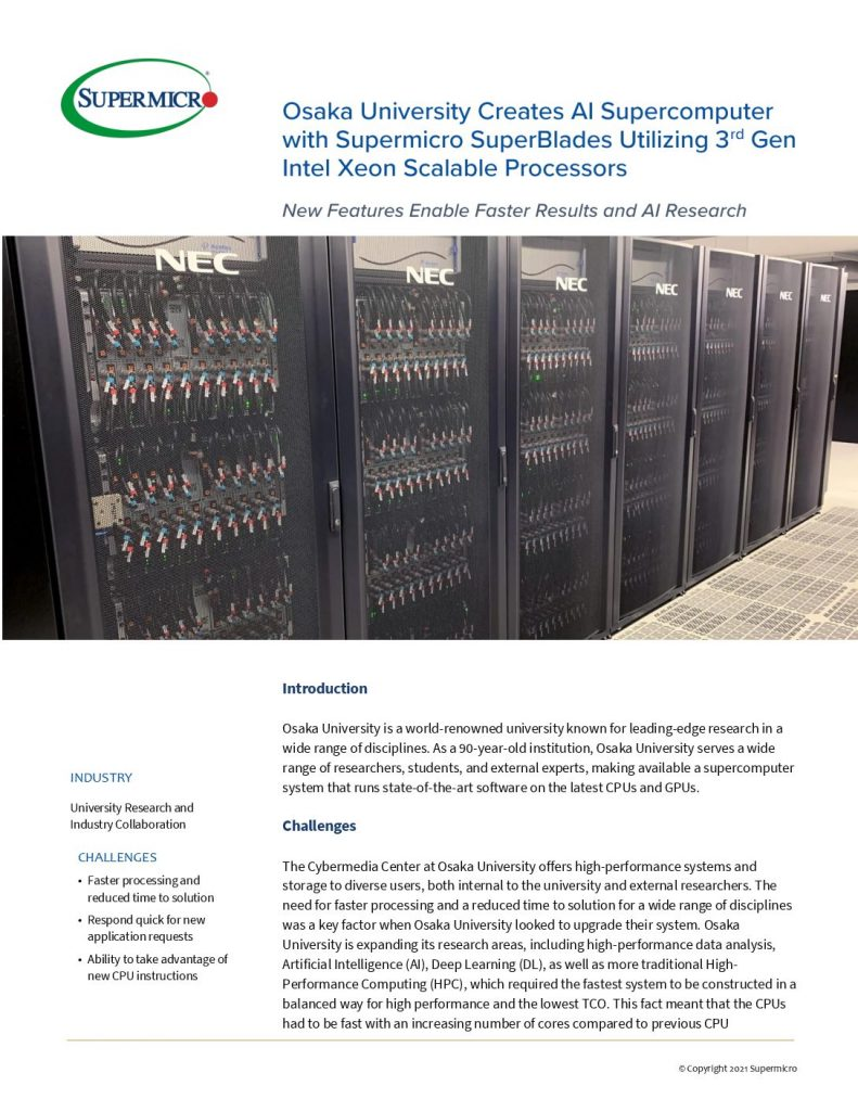 Liquid Cooling solutions from SuperMicro