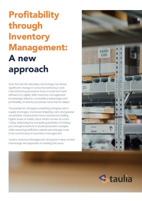 Profitability Through Inventory Management: A New Approach