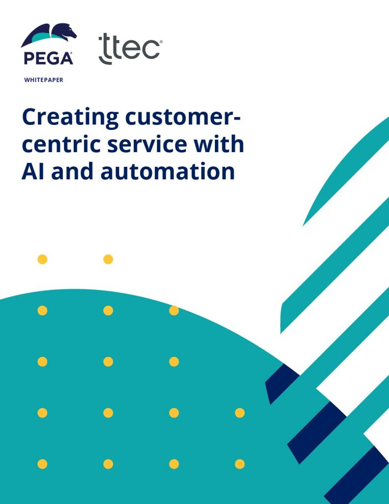 Creating customer- centric service with AI and automation