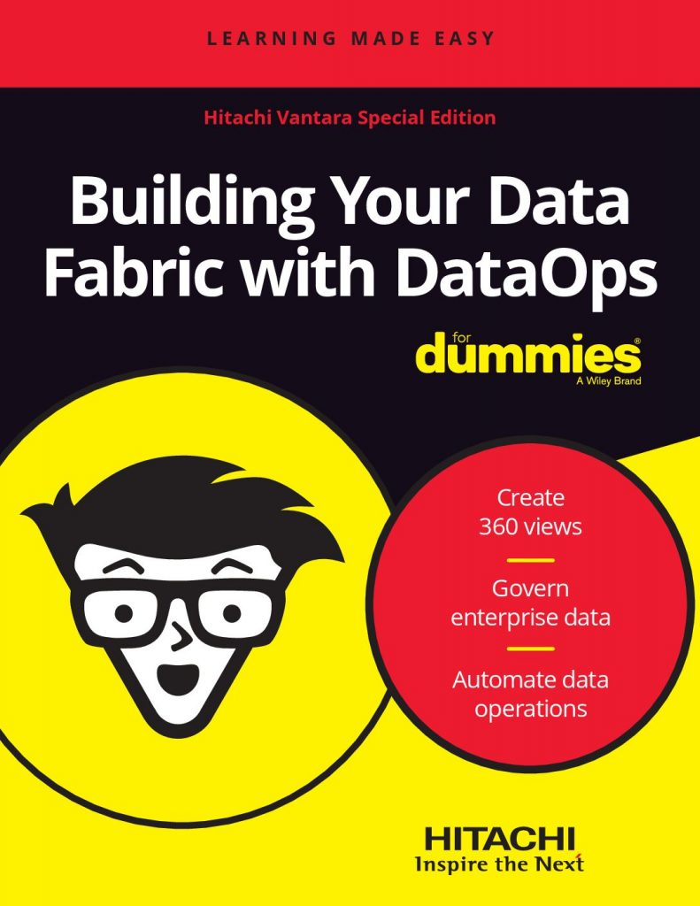 Building Your Data Fabric with DataOps for Dummies