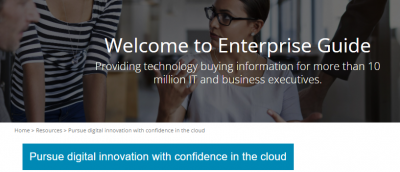 Pursue digital innovation with confidence in the cloud