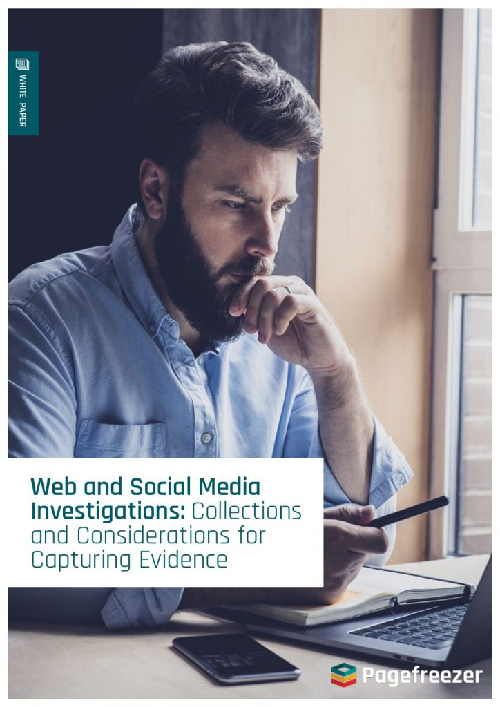How to Effectively Collect Evidence in an Online Investigation
