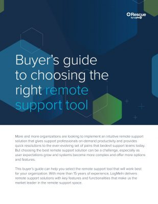 Buyer's Guide To Choosing The Right Remote Support Tool