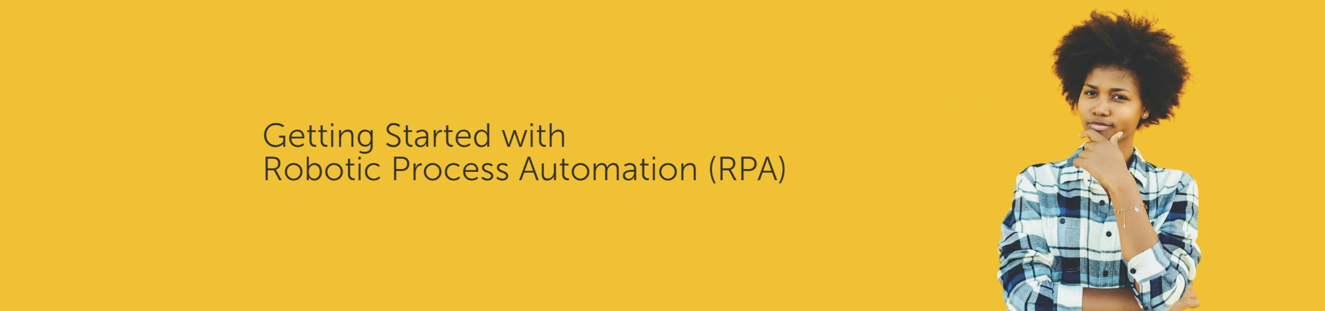 Sign up for the Getting Started with RPA learning trail on Automation Anywhere university.