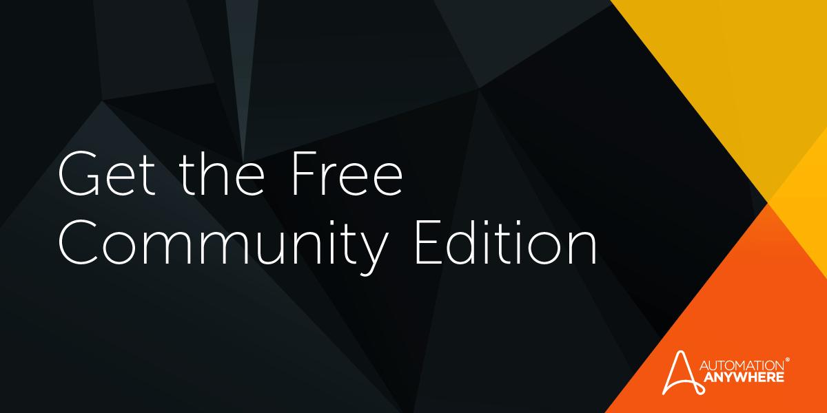 Community Edition