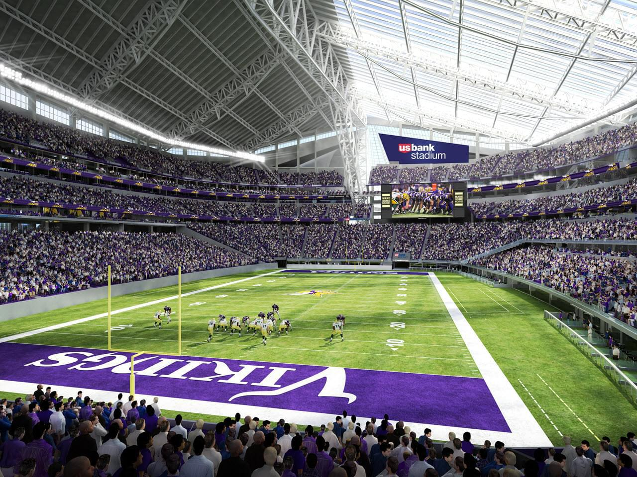 The Minnesota Vikings Have A New Home Supported By Made