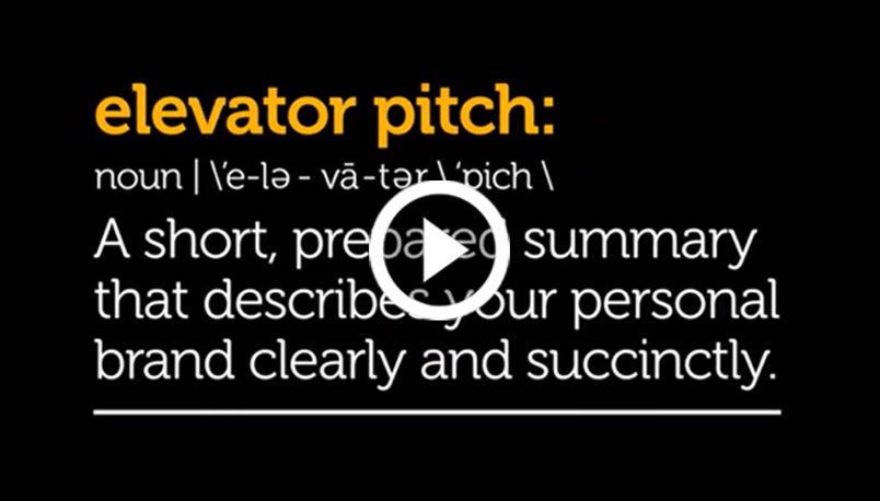 The definition of an elevator pitch