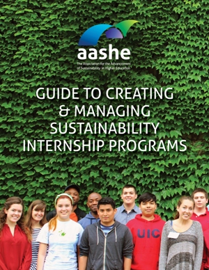 The first cohort of the University of Illinois at Chicago's Sustainability Internship Program, along with the SIP Graduate Assistant and Associate Chancellor for Sustainability.