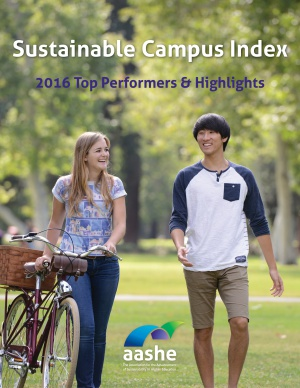 2016 Sustainable Campus Index cover