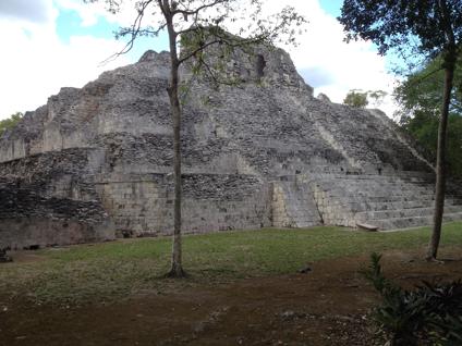 Becan Pyramid