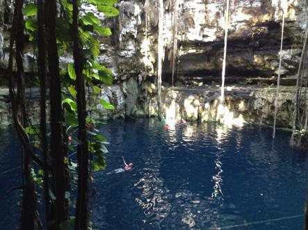 Yucatán Peninsula cenote