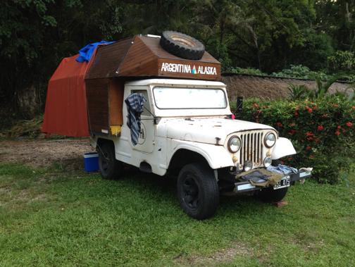 Cristián Silva's vehicle