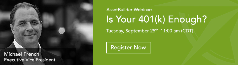 Is Your  401(k) Enough- Join us for a special webinar - Register today