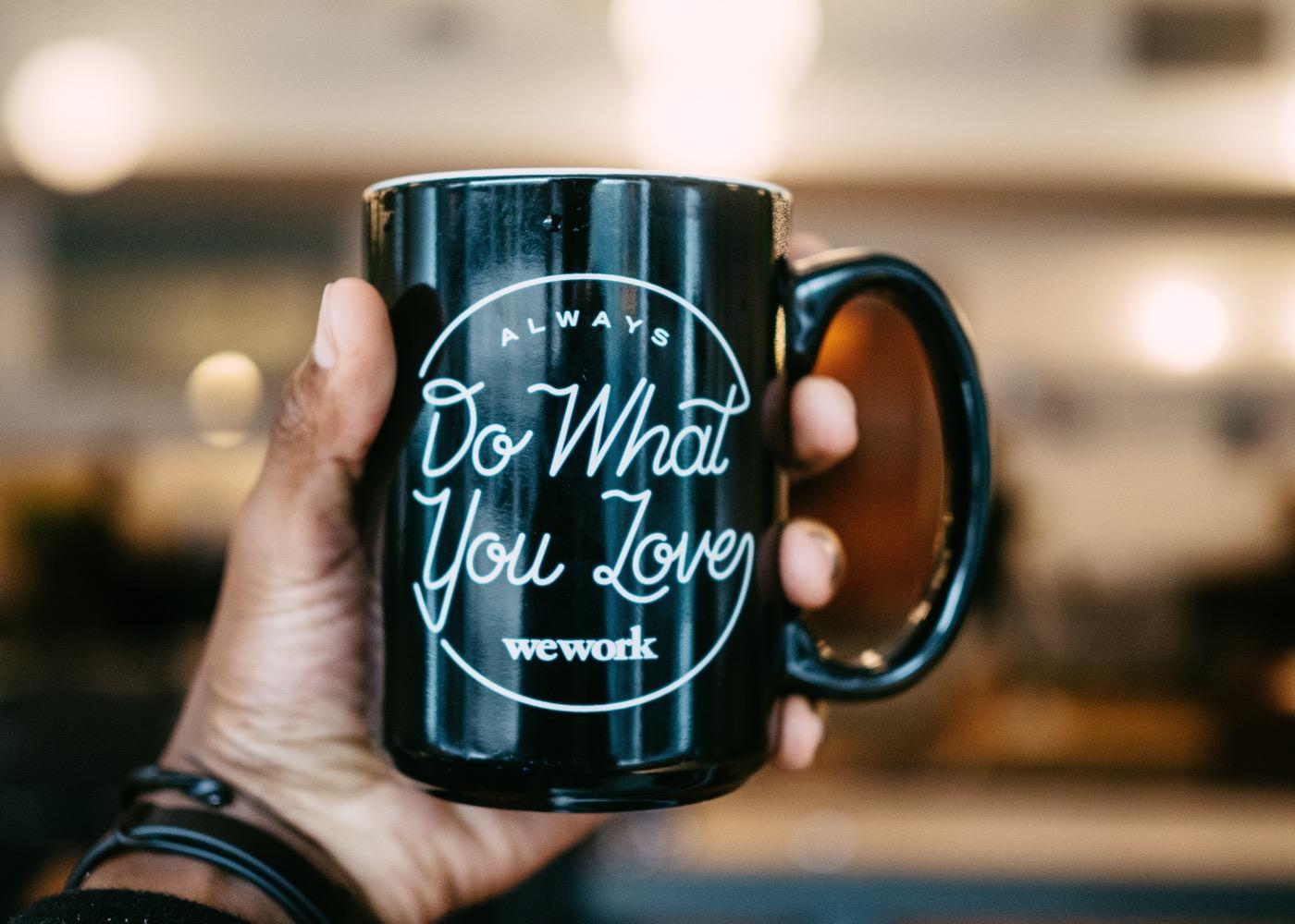WeWork mug