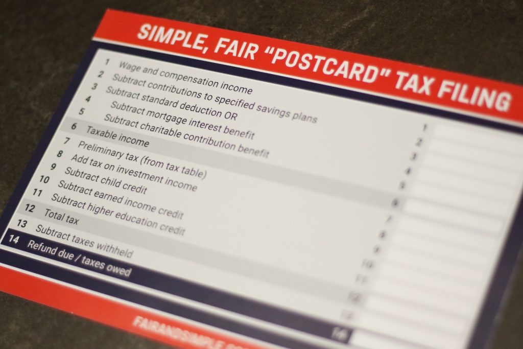 Why The 2019 Postcard Form 1040 Is Not Shorter Or Better Abacus