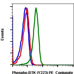 Phospho-Btk (Tyr223) (Clone: B4) rabbit mAb PE conjugate