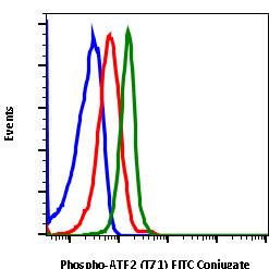 Phospho-ATF2 (Thr71) (Clone: G3) rabbit mAb FITC conjugate