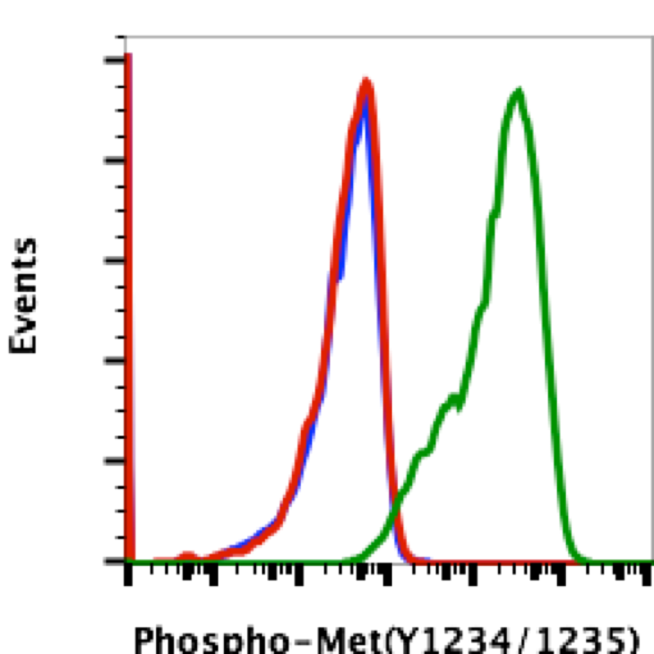Phospho-MET (Tyr1234/1235) (Clone: 6F11) rabbit mAb