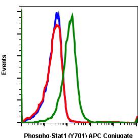 Phospho-Stat1 (Tyr701) (Clone: 3E6) rabbit mAb APC conjugate